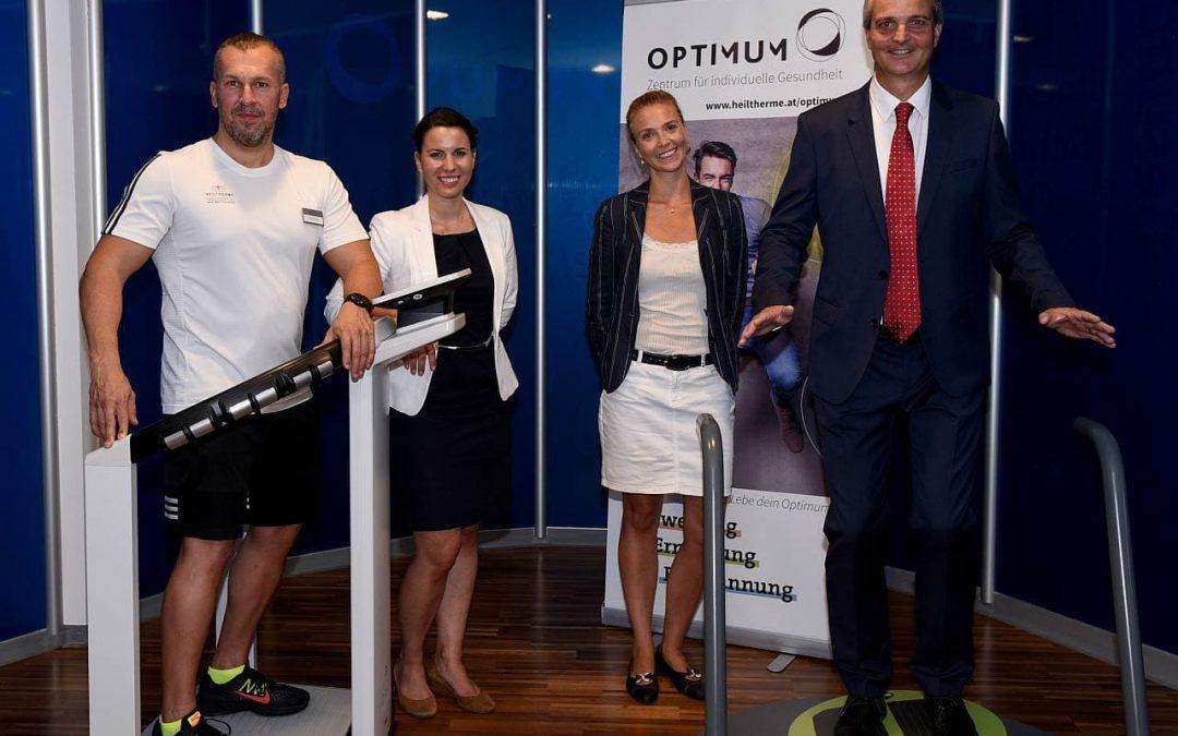 OPTIMUM: Neues Angebot im Quellenhotel Heiltherme Bad Waltersdorf